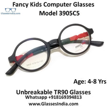 Load image into Gallery viewer, Kids Computer Glasses Blue Light Blocker Anti Blue Ray Eyeglasses  3905C5