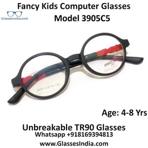 Kids Computer Glasses Blue Light Blocker Anti Blue Ray Eyeglasses  3905C5