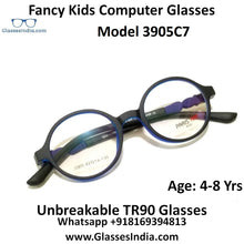 Load image into Gallery viewer, Kids Computer Glasses Blue Light Blocker Anti Blue Ray Eyeglasses  3905C7