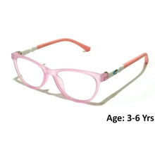 Load image into Gallery viewer, Kids Computer Glasses Blue Light Blocker Anti Blue Ray Eyeglasses  3906C4