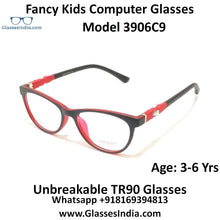Load image into Gallery viewer, Kids Computer Glasses Blue Light Blocker Anti Blue Ray Eyeglasses  3906C9