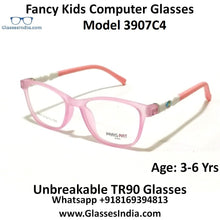 Load image into Gallery viewer, Kids Computer Glasses Blue Light Blocker Anti Blue Ray Eyeglasses  3907C4