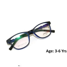 Load image into Gallery viewer, Kids Computer Glasses Blue Light Blocker Anti Blue Ray Eyeglasses  3907C7