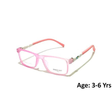 Load image into Gallery viewer, Kids Computer Glasses Blue Light Blocker Anti Blue Ray Eyeglasses  3908C4