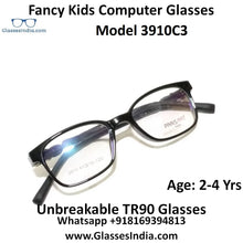Load image into Gallery viewer, Kids Computer Glasses Blue Light Blocker Anti Blue Ray Eyeglasses  3910C3