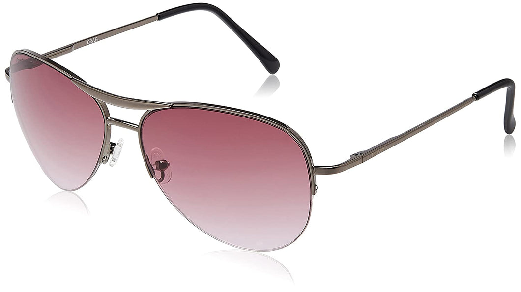 Fastrack Pink Aviator Sunglasses for Women M083PR3F