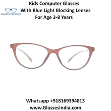 Load image into Gallery viewer, Kids Computer Glasses with Blue Light Blocker Lenses 76306C1