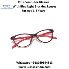 Load image into Gallery viewer, Kids Computer Glasses with Blue Light Blocker Lenses 76306C4