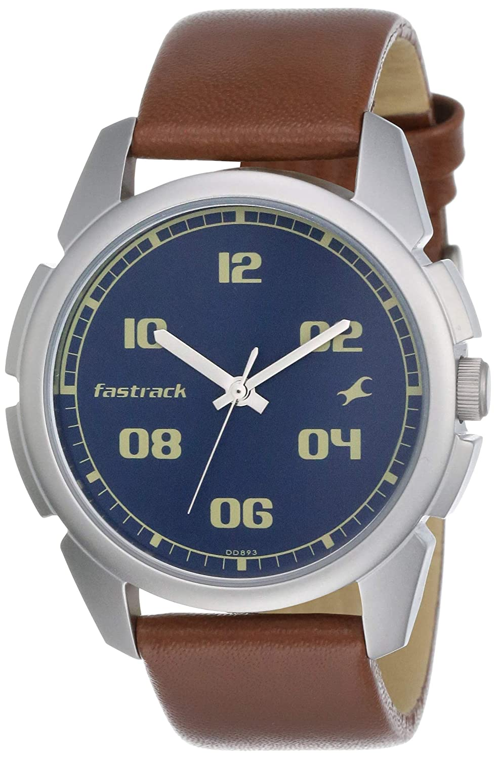 Fastrack Blue Dial Analog Watch For Men NM3124SL02