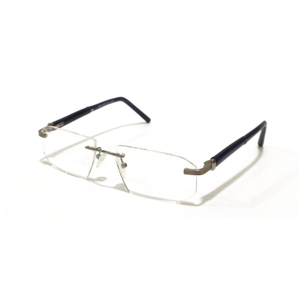 Grey Rimless Blue Light Blocker Computer Glasses 8506GM