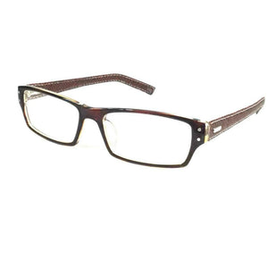 Brown Computer Glasses with Anti Glare Coating 9002Br