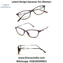 Load image into Gallery viewer, Trendy Designer Glasses for Women 98901C5