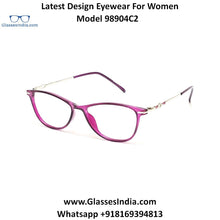 Load image into Gallery viewer, Trendy Designer Glasses for Women 98904C2