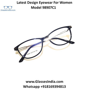 Trendy Designer Glasses for Women 98907C1