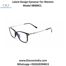 Load image into Gallery viewer, Trendy Designer Glasses for Women 98909C1