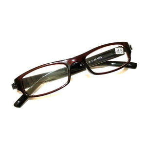 Brown Reading Glasses Power 275