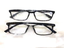 Load image into Gallery viewer, Black Blue Light Blocking Computer Reading Glasses for Men Women