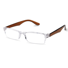 Load image into Gallery viewer, Crystal Brown Reading Glasses for Men and Women