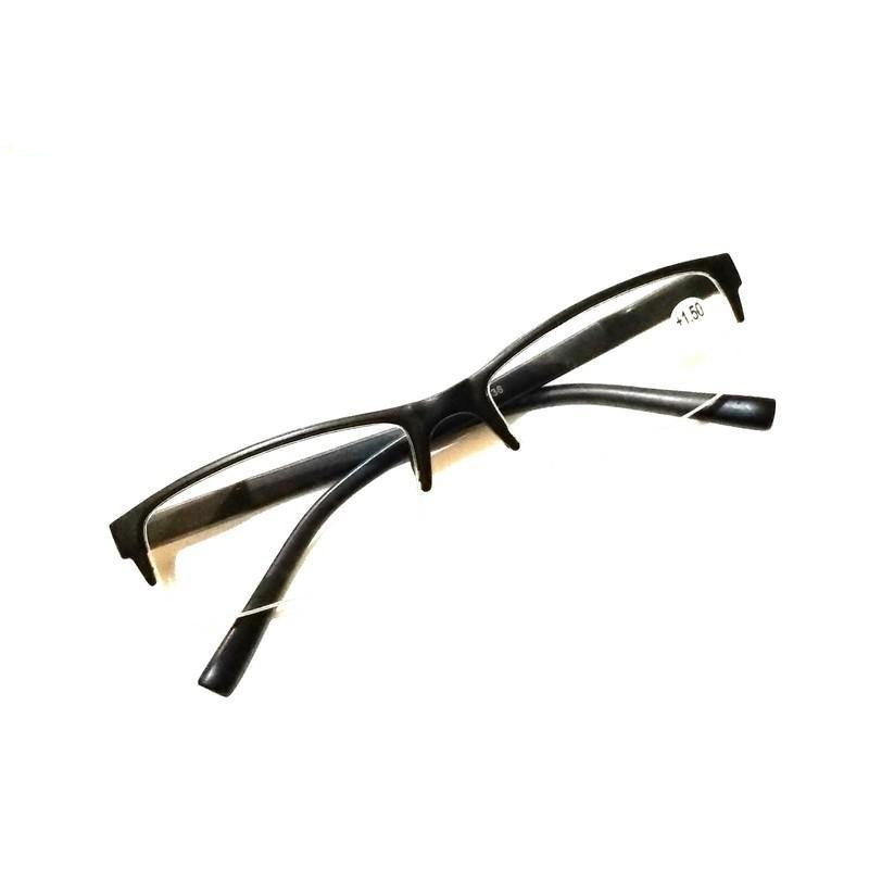 Black Supra Reading Glasses Power 150