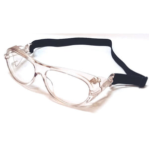 Clear Prescription Eye Safety Driving Glasses with Band M110-51