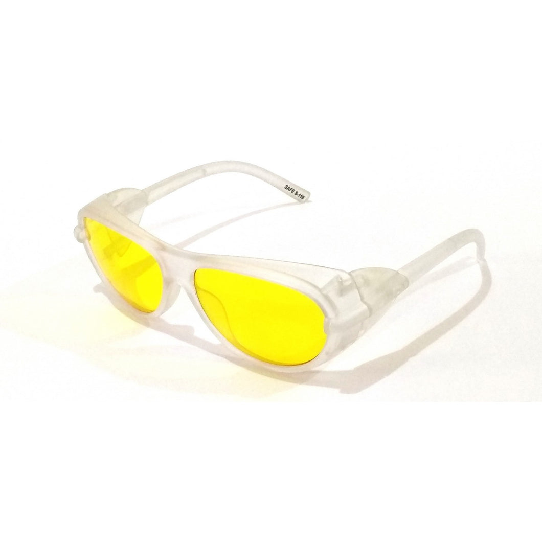 Yellow Lens Prescription Eye Safety Night Driving Glasses M110-63
