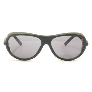 Dark Black Eye Safety Glasses Cataract Goggles M110-22