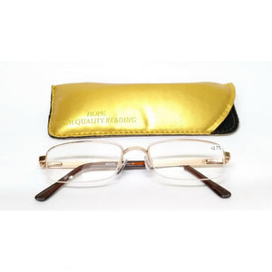 Gold Supra Reading Glasses 83401 Power 2.00