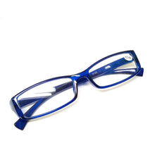 Load image into Gallery viewer, Blue Full Frame Plastic Reading Glasses 0125BL