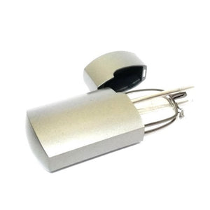Gunmetal Folding Reading Glasses Power +2.25