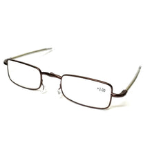 Load image into Gallery viewer, Copper Folding Reading Glasses Power +3.00