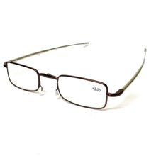 Load image into Gallery viewer, Copper Folding Reading Glasses Power +2.50