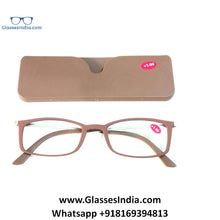 Load image into Gallery viewer, Ultra Slim TR90 Reading Glasses for Men & Women