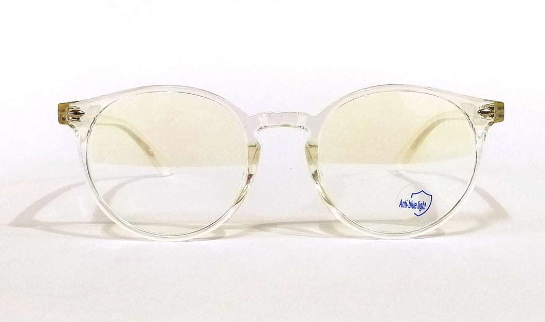 Transparent Anti Blue Light Computer Glasses M8539 C6