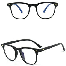 Load image into Gallery viewer, Matt Black Anti Blue Light Computer Glasses M8526 C2