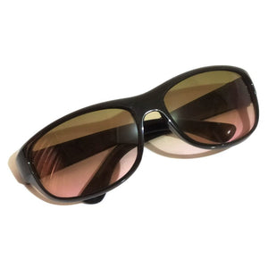 EYESafety Driving Glasses for Men and Women Sunglasses with Dual Tone Color Lens M05