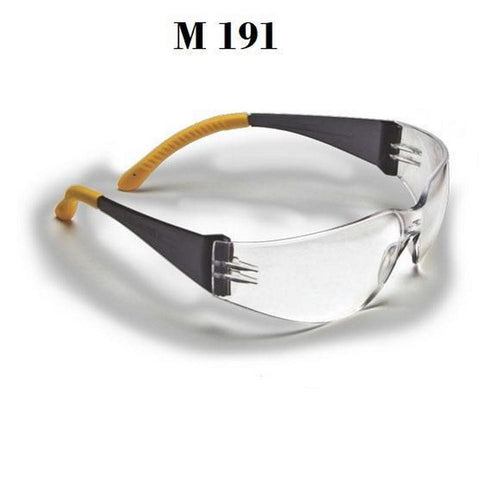 Clear Safety Goggles Wraparound Sports Driving Glasses Mod191 - GlassesIndia