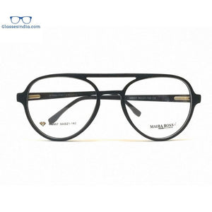 Blue Light Blocker Computer Glasses Anti Blue Ray Eyeglasses MB007BK - GlassesIndia