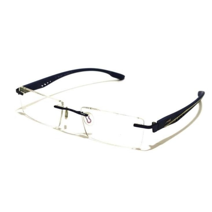 Blue Rimless Blue Light Blocker Computer Glasses MTS10012BL