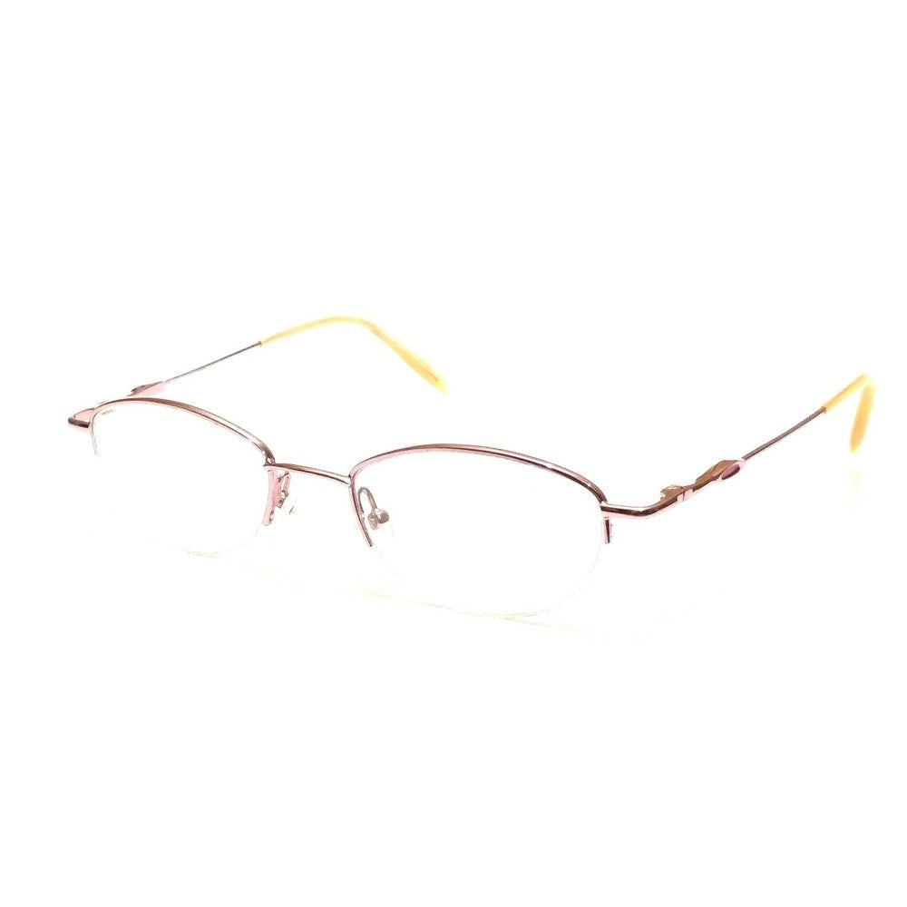 Pink Supra Half Rimless Blue Light Blocker Computer Glasses for Women PR4105