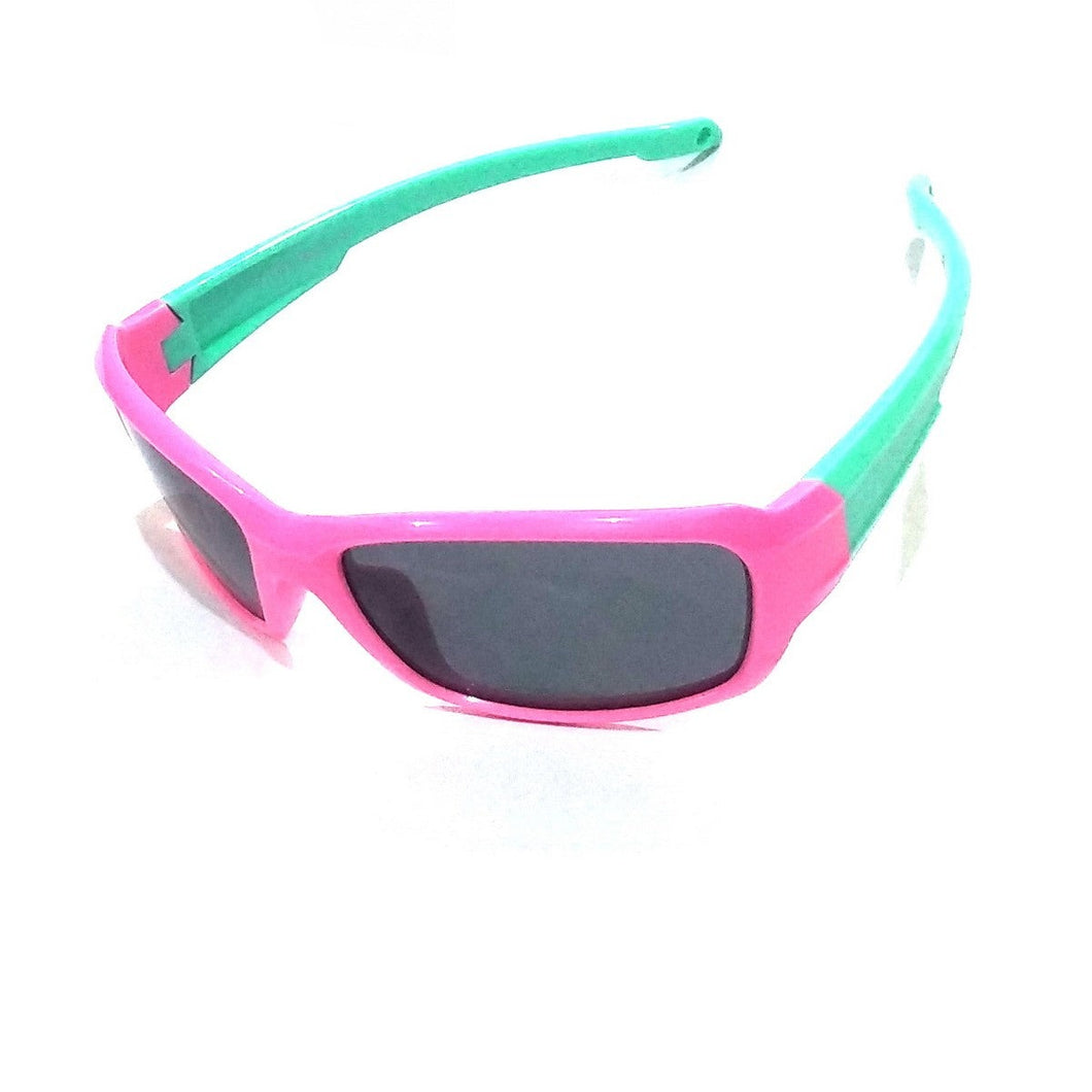 Unbreakable Kids Polarized Sunglasses Light Weight TR Material S8193PinkGreen