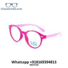 Load image into Gallery viewer, Kids Blue Light Blocker Computer Glasses Anti Blue Ray Eyeglasses S8217c30