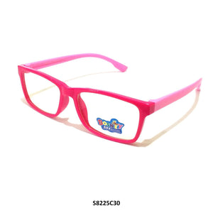 Kids Blue Light Blocker Computer Glasses Anti Blue Ray Eyeglasses S8225C30 - GlassesIndia