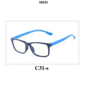 Kids Blue Light Blocker Computer Glasses Anti Blue Ray Eyeglasses S8225C31 - GlassesIndia