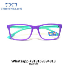 Load image into Gallery viewer, Kids Blue Light Blocker Computer Glasses Anti Blue Ray Eyeglasses S8225C34