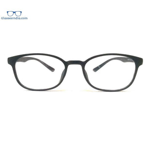 Blue Light Blocker Computer Glasses Anti Blue Ray Eyeglasses T17077BK - GlassesIndia