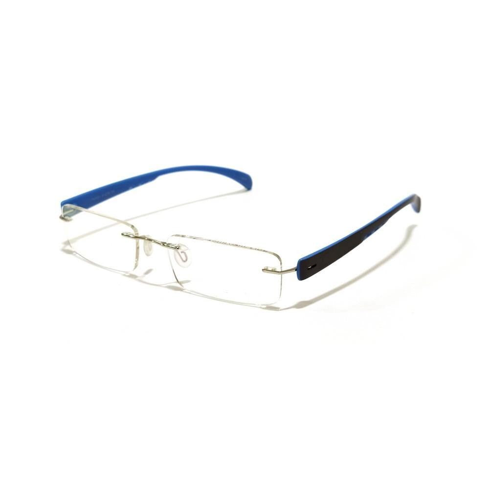 Blue Rimless Blue Light Blocker Computer Glasses TH1021BL