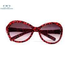 Load image into Gallery viewer, Kids Fashion Sunglasses TKS002RedPrint
