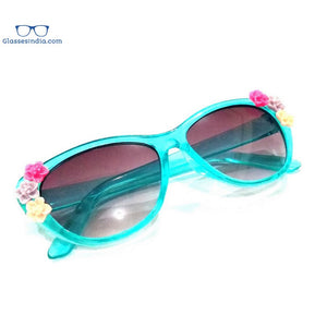 Green Kids Fashion Sunglasses TKS004Green
