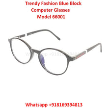 Load image into Gallery viewer, Trendy Fashion Anti Blue Light Computer Glasses TR66001C1