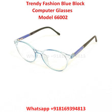 Load image into Gallery viewer, Trendy Fashion Anti Blue Light Computer Glasses TR66002C8
